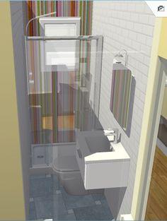 Vista de detalle de baño.
