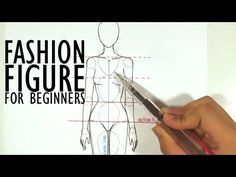 TUTORIAL - Fashion Figures for Beginners - YouTube