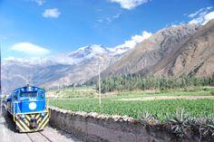 On the Vistadome train, from Ollantaytambo to Aguas Calientes, Peru | photo by Megan Ball, Avanti Destinations