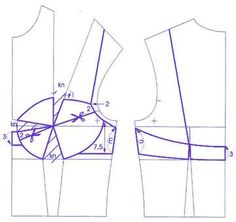 How to make the bra pattern: Draw the … - Lingerie Underwear Pattern, Lingerie Patterns, Clothing Patterns, Sewing Patterns, Corset Sewing Pattern, Bra Pattern, Pattern Drafting, Sewing Bras, Sewing Lingerie