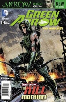 The 'Green Arrow' comic gets revamped by Jeff Lemire and Andrea Sorentino