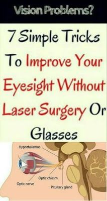 7 Simple Tricks To Improve Your Eyesight Without Laser Surgery Or Glasses - Health Care & Fitness Tips Facial Wash, Anti Aging Facial, Best Anti Aging, Best Eczema Treatment, Natural Treatments, Laser Surgery, Eye Sight Improvement, Vision Eye, Eyes