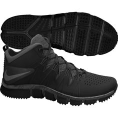 Nike Mens Free Trainer 7.0 Training Shoes Black Anthracite 599086 011