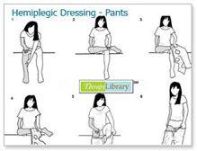 Hemiplegic Dressing - Pants