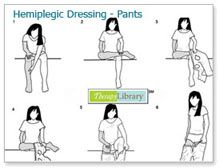 Hemiplegic Dressing - Pants