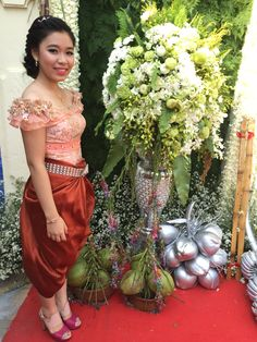 Khmer culture wedding cloths