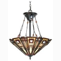 Buy the Quoizel Valiant Bronze Direct. Shop for the Quoizel Valiant Bronze Classic Craftsman 3 Light Bowl Pendant with Tiffany Stained Glass and save. Craftsman Chandeliers, Craftsman Lighting, Hanging Light Fixtures, Hanging Lights, Tiffany Ceiling Lights, Tiffany Stained Glass, Tiffany Glass, Vintage Pendant Lighting, 3 Light Pendant