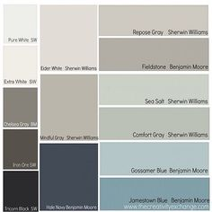 This last month, I did a reader favorite paint color poll on the blog and today I'm sharing the results. So many awesome colors shared! (Link in profile) #paint #colorpalette #interiordesign