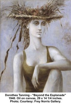 Beyond the Esplanade by Dorothea Tanning (googled)