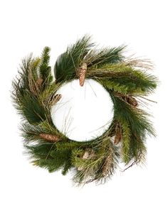 Gilt Home Collection Blue Spruce and Ivy Wreath
