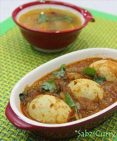 Punjabi Egg Masala – Anda Curry Recipe