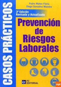 Casos prácticos de prevención de riesgos laborales, por Pedro Mateo Floría, Diego González Maestre. L/Bc 331.4 MAT cas   http://almena.uva.es/search~S1*spi?/dHigiene+industrial/dhigiene+industrial/-3%2C-1%2C0%2CB/frameset&FF=dhigiene+industrial&29%2C%2C287
