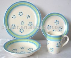 hand painted dinnerware | Crockery Hand Painted 32pc Or 16pc Dinnerware Set - Buy Dinnerware Set ...