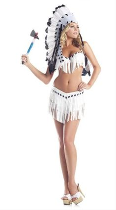 Be Wicked Costumes Women's Chief Indian Princess Costume, Black/White, Small/Medium Be Wicked http://www.amazon.com/dp/B00BMJU59Y/ref=cm_sw_r_pi_dp_Pu0cvb1MEW7S2