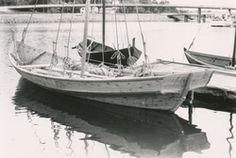Kopi av notbåt fra Årsetøy, Austefjord. Denne båten er nå en
