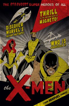 Classic X-Men  by *MikeMahle