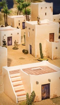 icu ~ PlastCraft Build Up Their Desert Mesa SAGA Terrain Collection – Beasts of War Minecraft Projects, Minecraft Houses, Nativity House, Christmas Nativity, Piscina Intex, Medieval Houses, Adobe House, Minecraft Architecture, Wargaming Terrain
