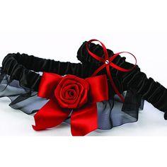 Midnight Rose Garter Set - Overstock Shopping - Big Discounts on Hortense B. Hewitt Wedding Ceremony