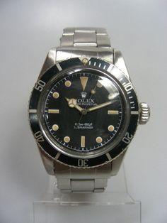 """1959 -  Rolex Submariner 6538 - James Bond/Sean Connery """"Big Crown/Gros Remontoir"""""""