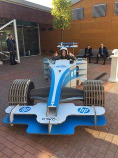 Temporary POS Design - HP - Esko - F1 Car