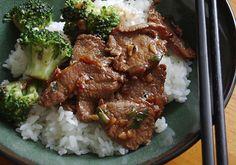 Garlic Lamb Stir-fry with Broccoli