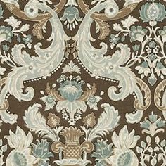 LUTRON STORM - Damask - Shop By Pattern - Fabric - Calico Corners-   Maybe for antique chair?