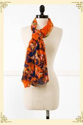 Butterfly Gardens Scarf - I want this!!!