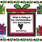 Your students will love searching the room for these colorful Christmas CVC word cards! Written on each card is a CVC word and peeking from each bo...