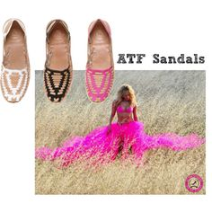 ATF sandals soon available @ www.alltimefavourites.com