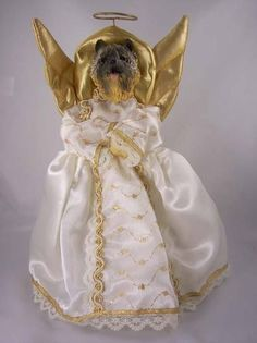 Cairn Terrier Red Angel Tree Topper