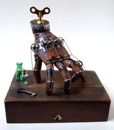 Steampunk 'Thing' is ready to help out around the house