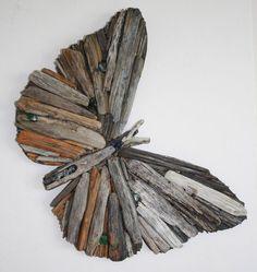 Бабочка из дерева / Декор стен / ВТОРАЯ УЛИЦА