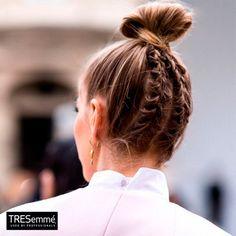 Perfect Braided Chignon - Trenza Moño Alto Hairstyle TRESemmé