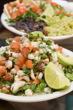 Shrimp and Seabass Ceviche