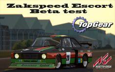 Assetto Corsa   Zakspeed Escort GR.5[Beta mod test]   TOP GEAR