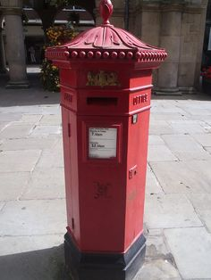 "A V1 Hexagonal Pillarbox text ""post office"" third modification to penfold"