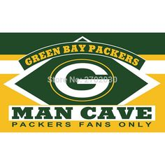 New Arrival! : Green Bay Packers... Check it out here! http://thepurplejester.com/products/green-bay-packers-fans-only-man-cave-banner?utm_campaign=social_autopilot&utm_source=pin&utm_medium=pin Free Shipping on all Orders!