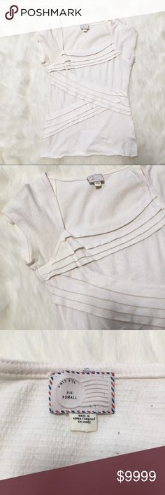 Postmark Slanted Layers Top More to come Anthropologie Tops