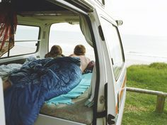 This Seattle couple just drove a 30-year-old Volkswagen camper van around the globe, logging some 48,000 miles on its aged odometer.
