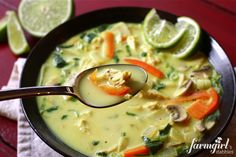 another Chicken coconut curry soup recipe i want to try....