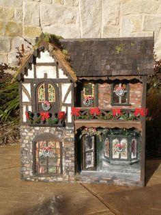 Christmas Carol Dollhouse