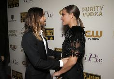 HQ Jared Leto and Adele Exarchopoulos attend the 19th annual Critics' Choice Movie Awards.