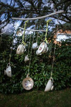 Wie wäre es denn mit einer individuellen Dekoration für Dein Gartenfest?  #Feier #Hochzeit #Wedding #Vintage #Verleih #Tasse #Porzellan #Geschirr #Verleih #mieten #kaufen #verleihen #Sammeltasse #Gartenfest #picknick #