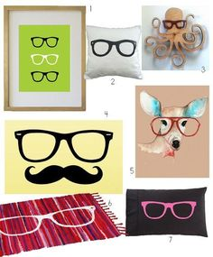 Home Decor Accessories for Eyeglass Fans (and Hipsters) | Apartment Therapy