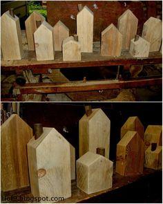 DIY I. Teil (Diy House Carton) Source by kdittschar Scrap Wood Crafts, Scrap Wood Projects, Wooden Crafts, Woodworking Projects, Diy And Crafts, Decoration Christmas, Decoration Table, Christmas Diy, Mundo Hippie