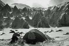 basecamp at Mt Shishapangma in the Tibet Himalayas, 8000 meter peak