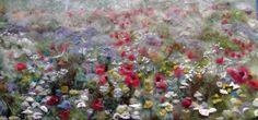 wildflower meadow By Jill Harrison httpwww.jill-harrison.webs.com.....incredible feltwork!