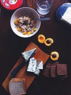 #breakfast #viola #dorblue #apricot