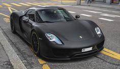 Porsche 918 Spyder with Weissach Package spotted in Zurich