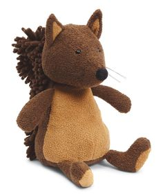 Noodle Squirrel Medium Plush Toy // other woodland animals and creatures / adorable in a forest friends nursery or bedroom